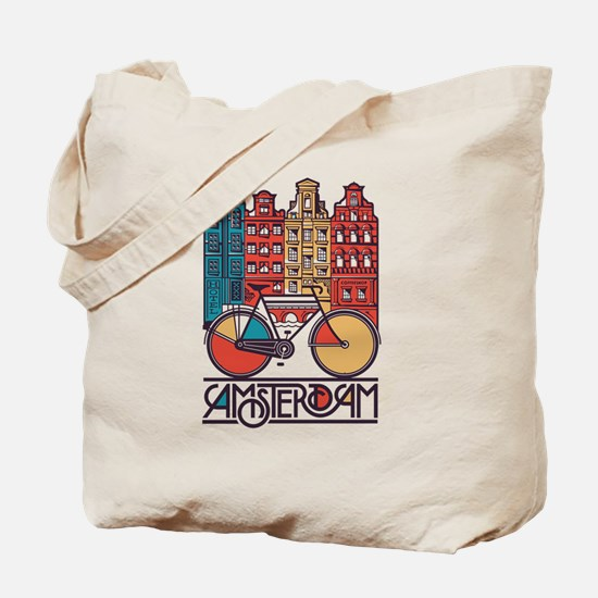 Cute Country towns Tote Bag