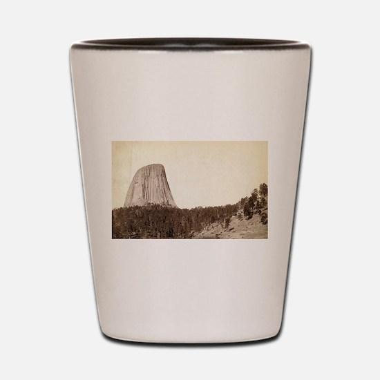 Devil's Tower - John Grabill - 1888 Shot Glass