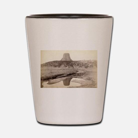 Devil's Tower 2 - John Grabill - 1890 Shot Glass