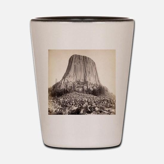 Devil's Tower 4 - John Grabill - 1890 Shot Glass