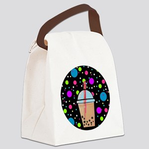 Bubble Tea Canvas Lunch Bag