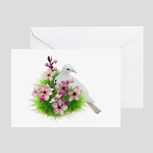 Spring Dove Greeting Card