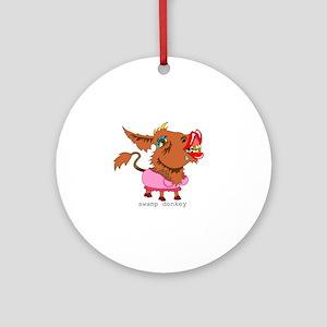 Swamp Donkey Ornament (Round)