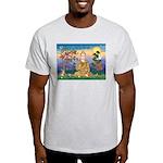 Buddha 1 - Inner Peace Ash Grey T-Shirt