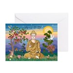 Buddha 1 - Greeting Cards (Pack of 10)