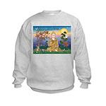 Buddha 1 - Inner Peace Kids Sweatshirt