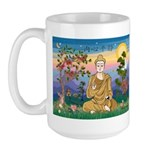 Buddha 1 - Inner Peace Large Mug