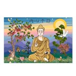 Buddha 1 - Inner Peace Postcards (Pack of 8)