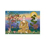 Buddha 1 - Inner Peace Rectangle Magnet