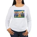 Buddha 1 - Inner Peace Women's Long Sleeve T-Shirt