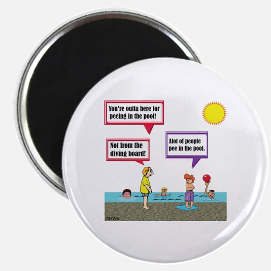 Funny Peeing Magnet