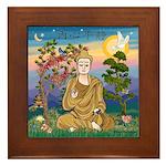 Buddha 1 - Inner Peace Framed Tile