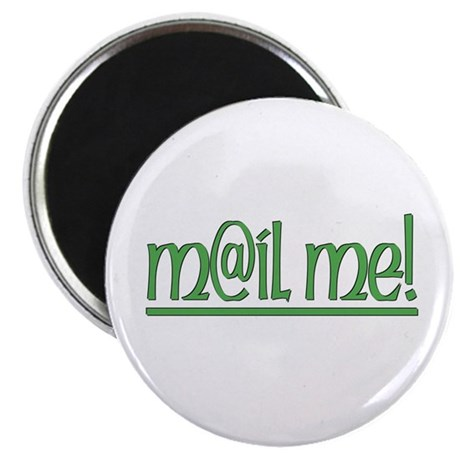 ...Mail Me... Round Magnet