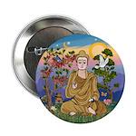 Buddha 1 - Inner Peace Button