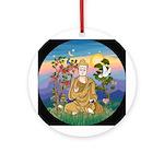 Buddha 1 - Inner Peace Ornament (Round)