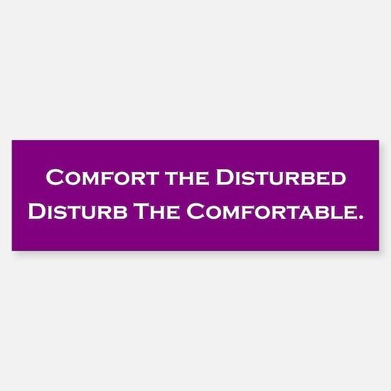 Comfort the Disturbed Bumper Bumper Bumper Sticker