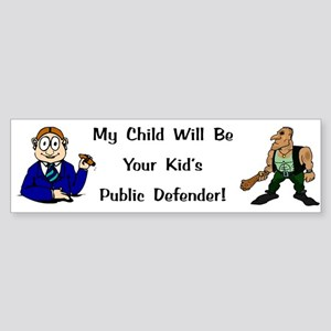 Public Defender Bumper Sticker