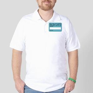 Incapacitated Golf Shirt