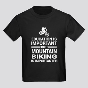 Education Important Mountain Biking Import T-Shirt