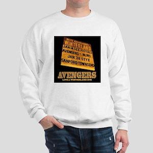AVENGERS - Live at Winterland Album Art Sweatshirt