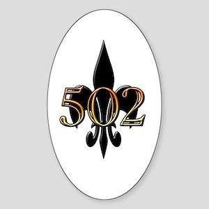 Louisville Oval Sticker