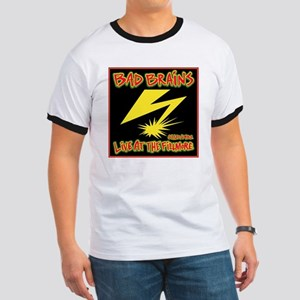 Bad Brains Live at the Fillmore Album Art Ringer T