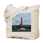 Muskegon South Breakwater Light Tote Bag