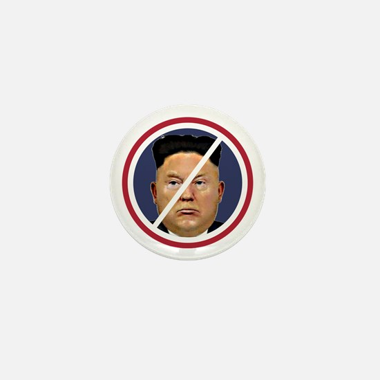 Trump Jung Un Mini Button