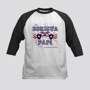 Boricua Papi Kids Baseball Jersey