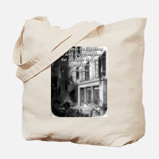 Best Friends Are Like Stars - Anonymous Tote Bag