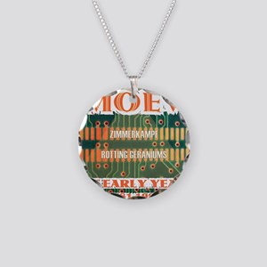 MOEV - The Early Years Elect Necklace Circle Charm