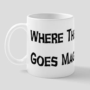 Where The Goddess Goes Mug