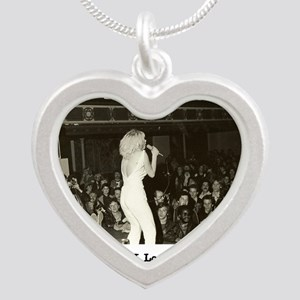 Tribute to The Avengers Punk Silver Heart Necklace