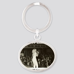 Tribute to The Avengers Punk Rock Al Oval Keychain