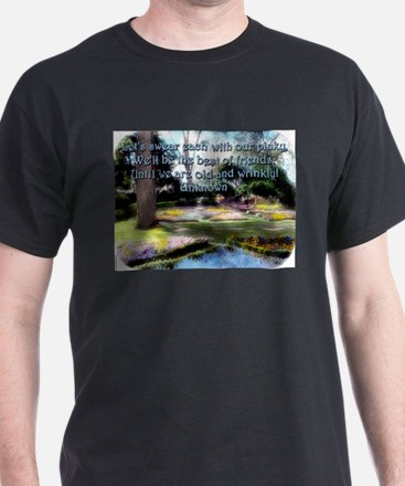 Lets Swear Each With Our Pinky - Unknown T-Shirt