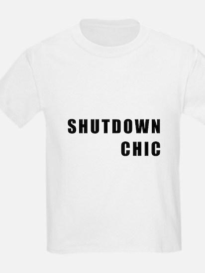 SHUTDOWN CHIC T-Shirt