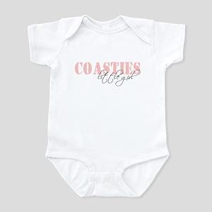 Coastie's little girl Infant Bodysuit