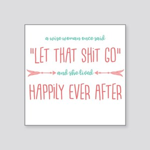 A Wise Woman Sticker