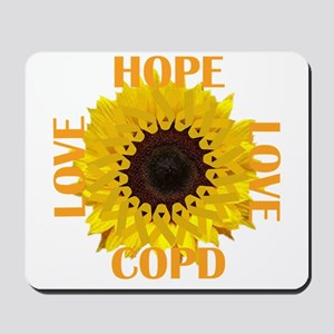 COPD Hope Sunflower Mousepad