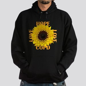 COPD Hope Sunflower Hoodie