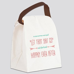 A Wise Woman Canvas Lunch Bag