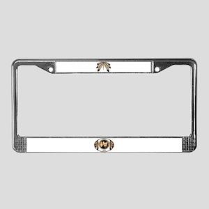 Native Spirit Buffalo Metis Ar License Plate Frame