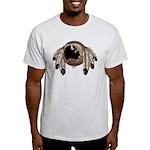 Native Art Light T-Shirt Cool Wildlife Artwork