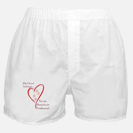 Foxhound Heart Belongs Boxer Shorts