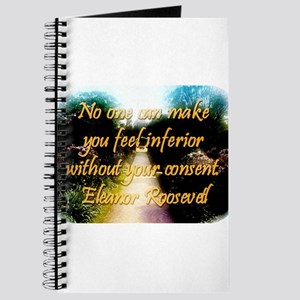 No One Can Make You Feel - Eleanor Roosevelt Journ