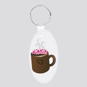 Cute Hot Chocolate Keychains