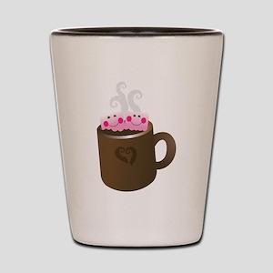 Cute Hot Chocolate Shot Glass