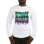 Throat Slashing Maniac Long Sleeve T-Shirt