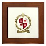 GUILLORY Family Crest Framed Tile