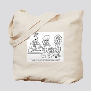 Let's Work Through Lunch Tote Tote Bag